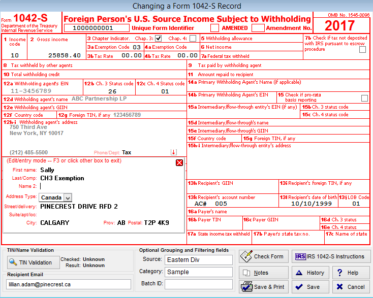 1042-S Software, 1042-S eFile Software & 1042-S Reporting