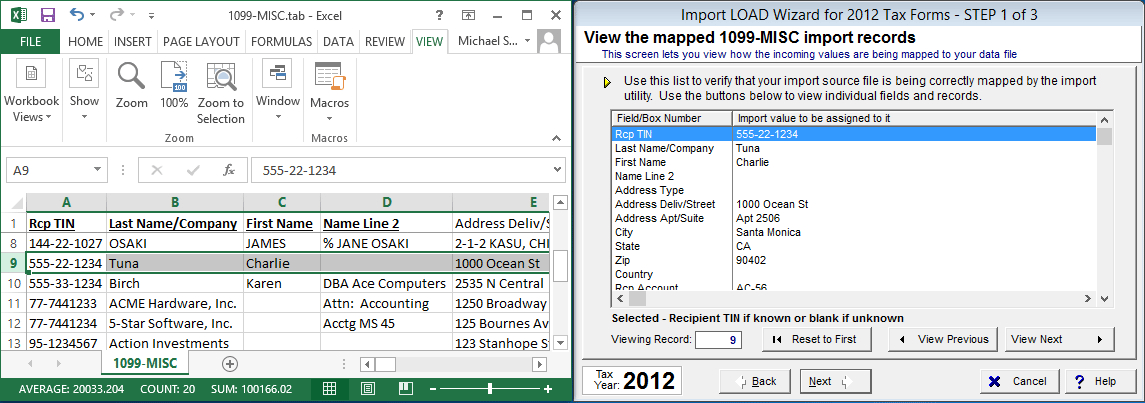 1099 template excel april onthemarch co
