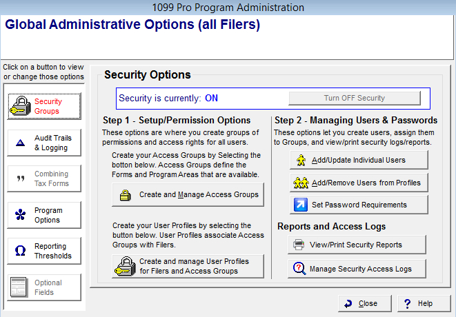 1099 Printing Software & Form 1099 Filing Software