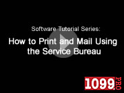How to Print and Mail Using the Service Bureau