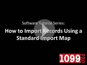 Importing Using Standard Maps