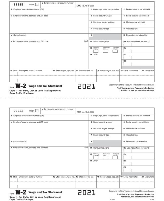 1099 Tax Formsenvelopes W2 Tax Formsenvelopes
